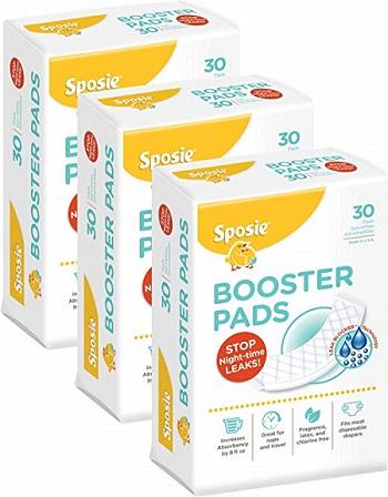 Sposie Booster Pads Diaper