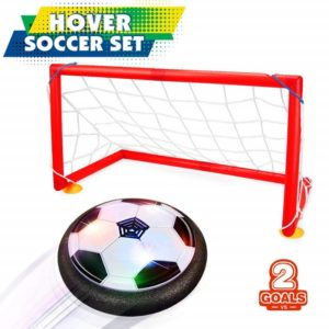 Betheaces Kids Toys Hover Soccer Ball Set 2 Goals Gift Football